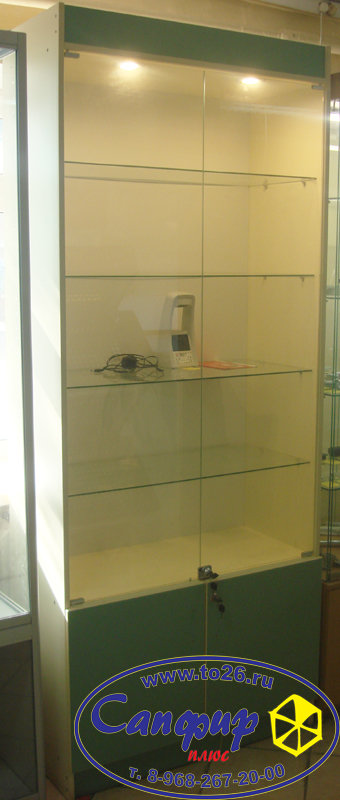 Шкаф - витрина ШВ 90