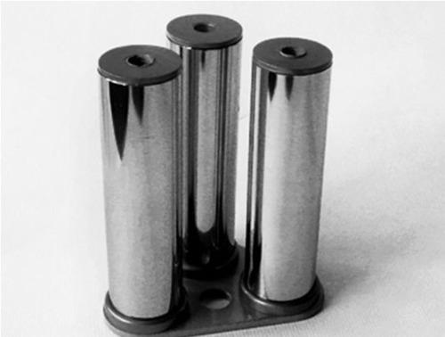 УС-11 Узел для соединения  труб Ǿ25мм с пластиной 80х65х65х3 мм, с отверстием Ǿ11мм.