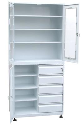 Шкаф для медикаментов с ящиками
