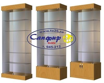 Шкаф - витрина стеклянная ВС-80 ширина 800 мм.