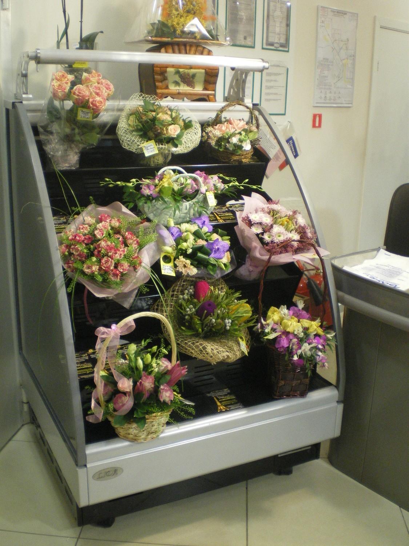 Холодильная горка для цветов