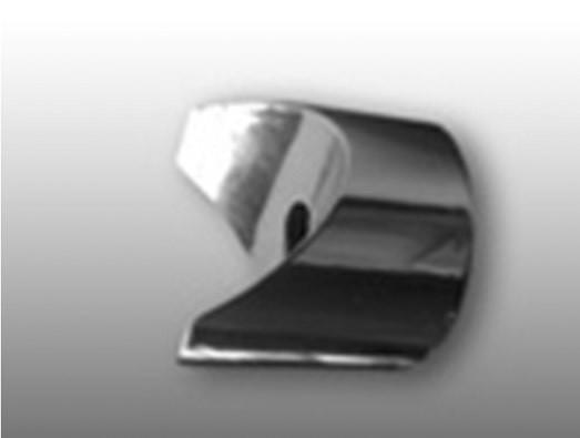 Кольцо переходное Ǿ25мм, хром КПР-1.1-ХР