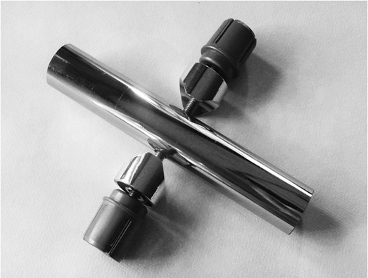 УС-1.2 Узел для Х-образного соединения труб Ǿ25мм.