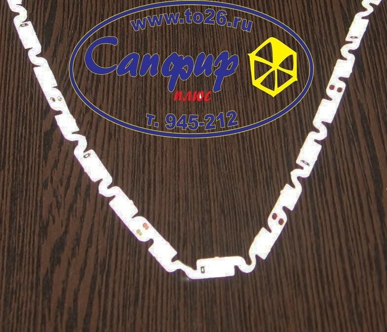 Светодиодная лента белая 12V Warm 2X (5060, 240 LED, 180) рулон 5 м.