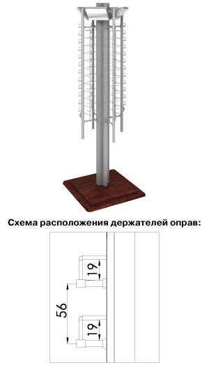 Стойка для очков SOP.001.V2.DSP