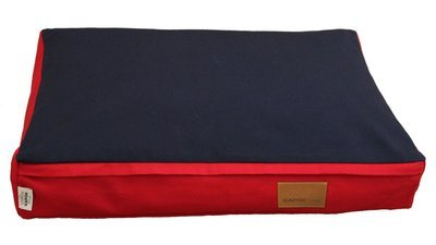 Red w/ Navy Panel (one side only) - Cover Only