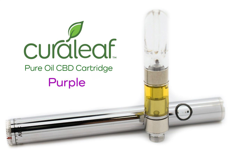 Purple CBD Pure Oil W-C297 T140 CBD Cartridge 6578 (CL)