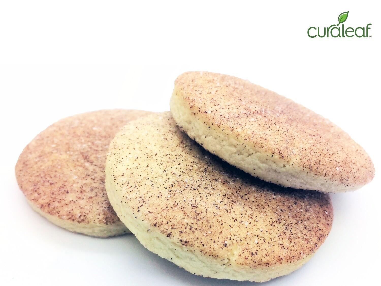 Cinnamon Sugar Cookies 7416 (3 Cookies x 30.4 mg THC)(CL)