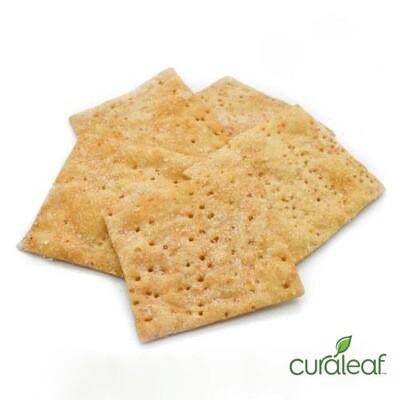Sea Salt Wheat Crackers 7906 (9 mg THC x 10 Crackers)(CL)