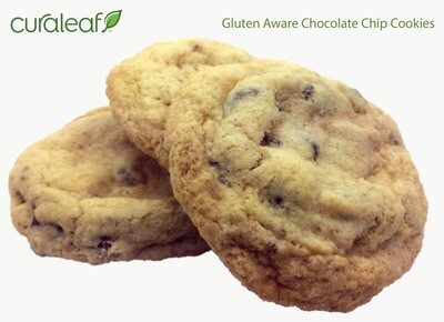 Gluten-Aware Chocolate Chip Cookies 7907 (3 Indica Cookies x 31.6 mg THC)(CL)