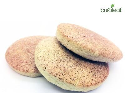 Cinnamon Sugar Cookies 7969 (3 Cookies x 32 mg Hybrid THC)(CL)