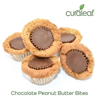 Chocolate Peanut Butter Bites 7997 (5 Bites x 19.2 mg THC Indica)(CL)