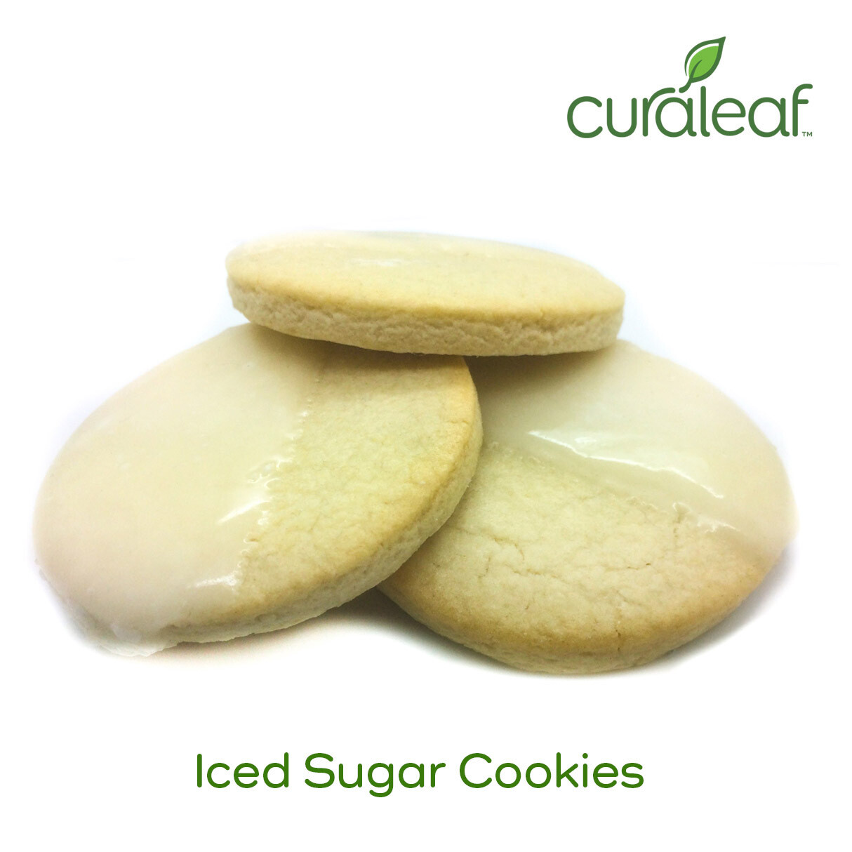 Iced Sugar Cookies 7971 (3 Cookies x 28.9 mg Indica THC)(CL)