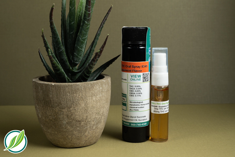 T250 I THC Oral Spray 8349 (3 mg THC per Spray x mL)(CPS)