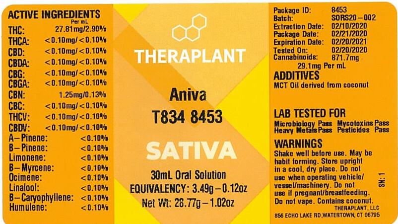 Aniva T834 8453 (29.1 mg THC/mL x 30 mL)(TP)
