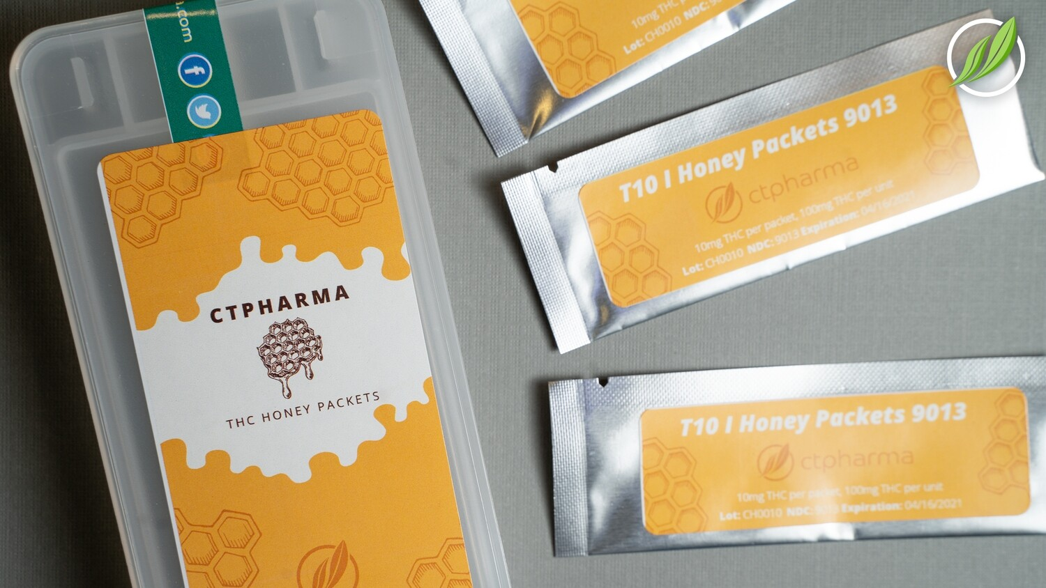 T10 I Honey Packets 9013 (10 Packets)(CPS)