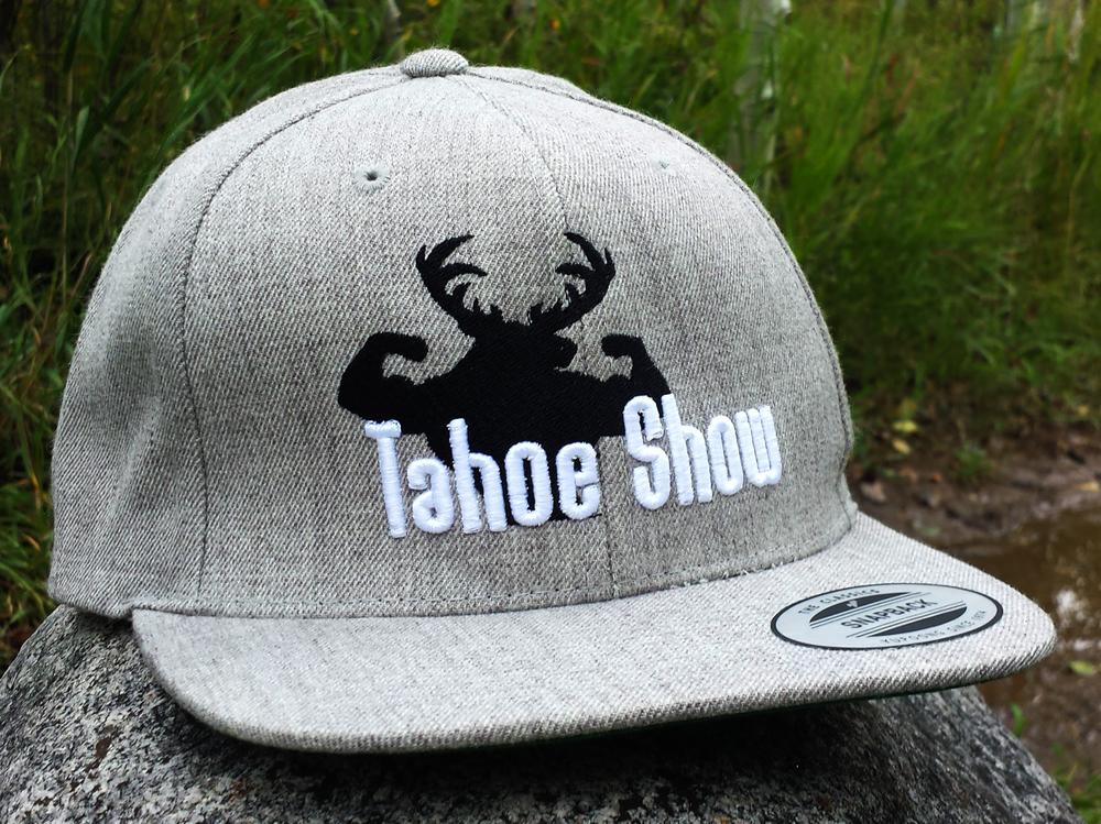Tahoe Show® Wool blend flat bill SNAPBACK HAT 60026