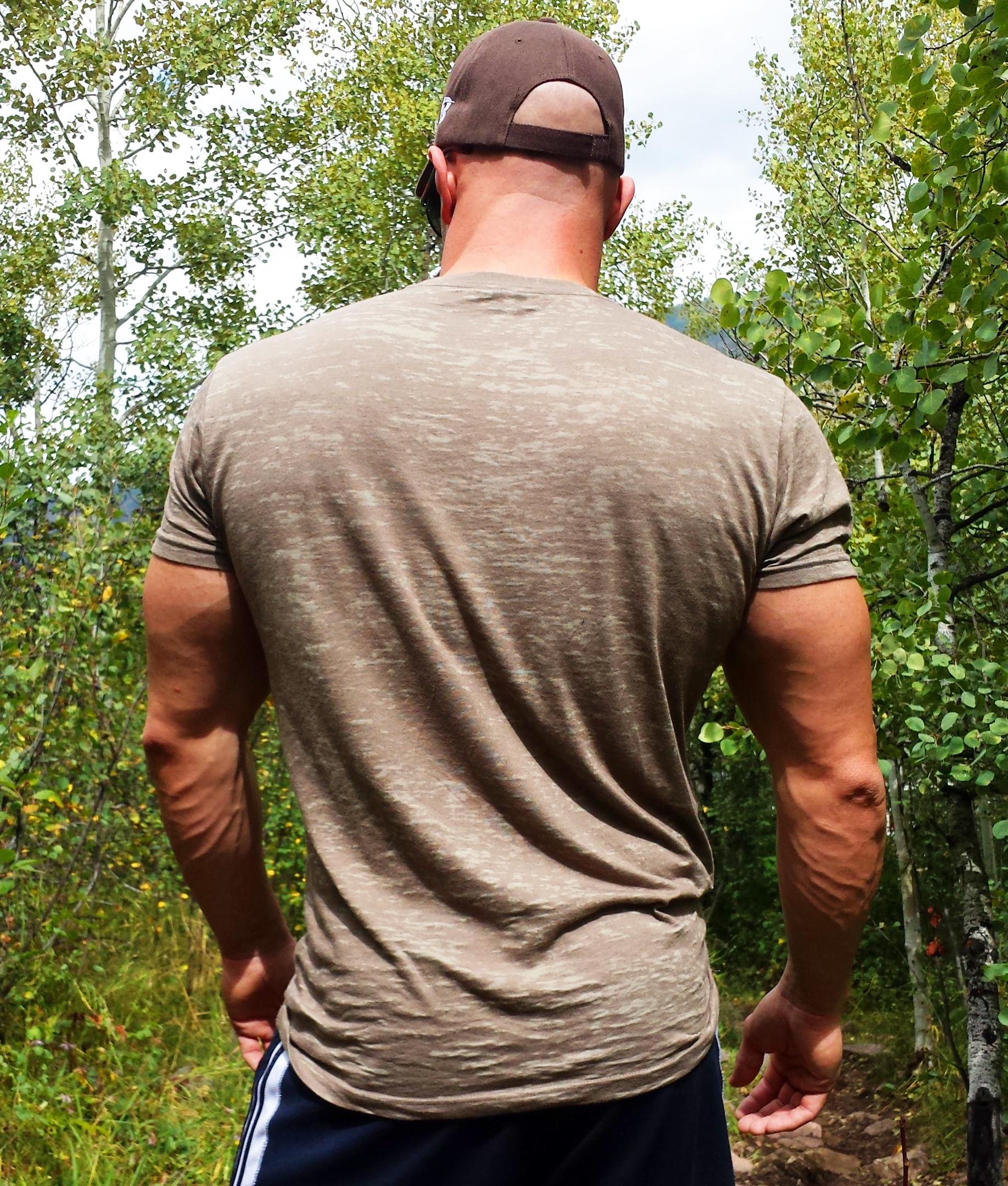 Tahoe Show Burnout T-Shirt Back
