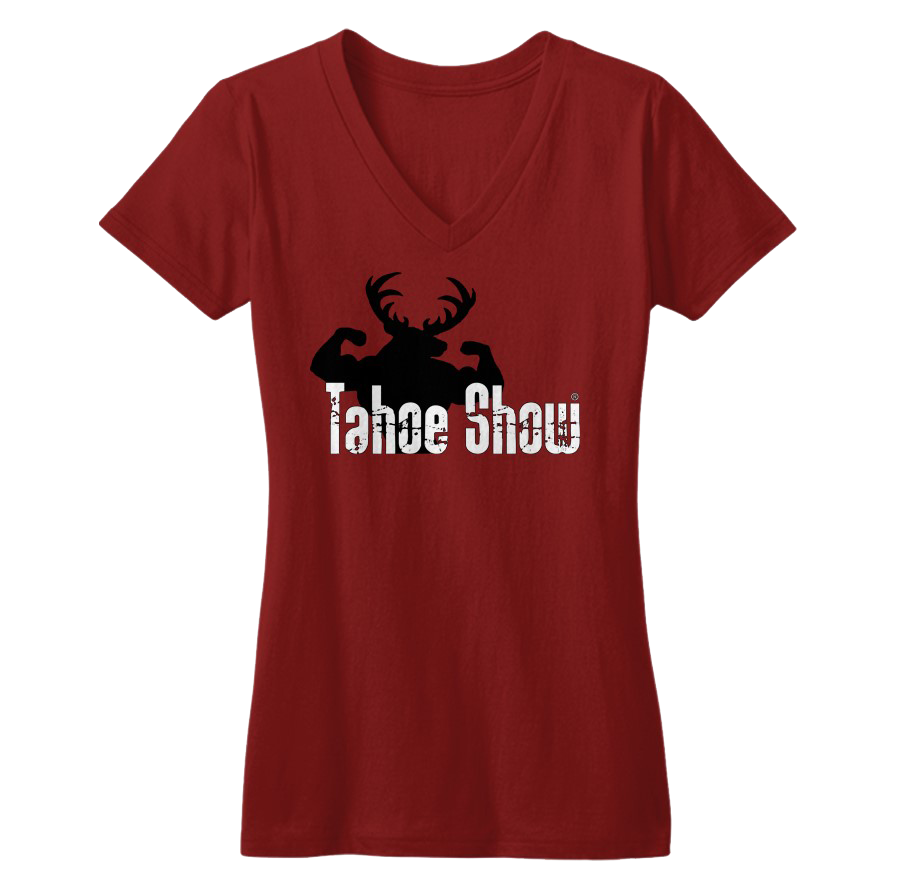 Tahoe Show Woman's Deep V T-Shirt 60043