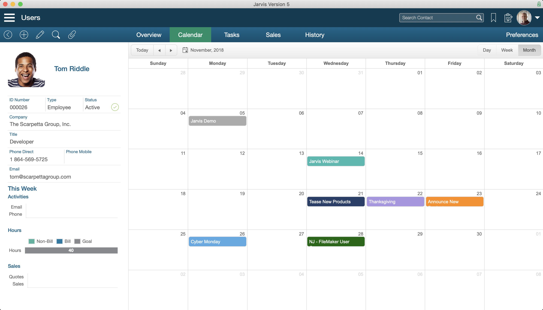 Jarvis CAL - Calendar for FileMaker®
