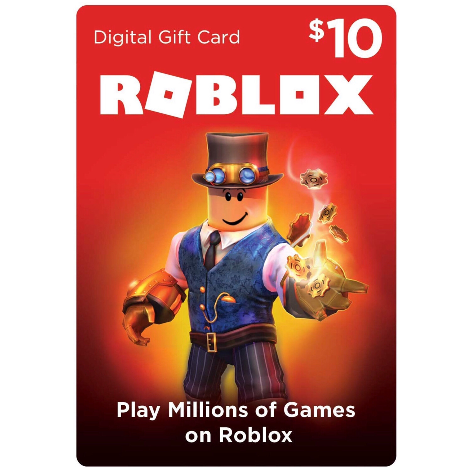 Roblox $10 Game Card 800 Robux [Digital Code]