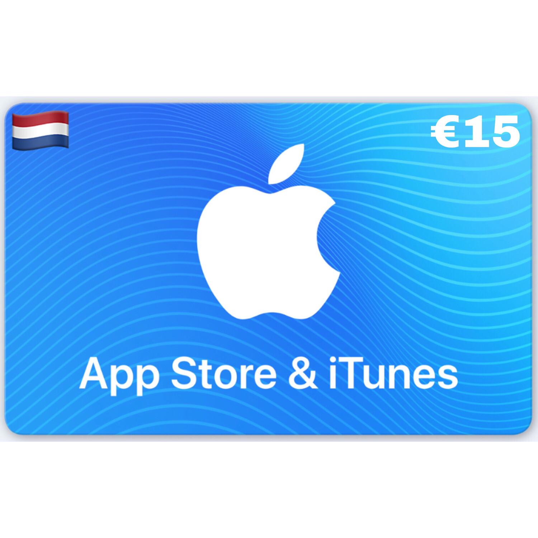 Apple App Store & iTunes Gift Card Netherlands €15