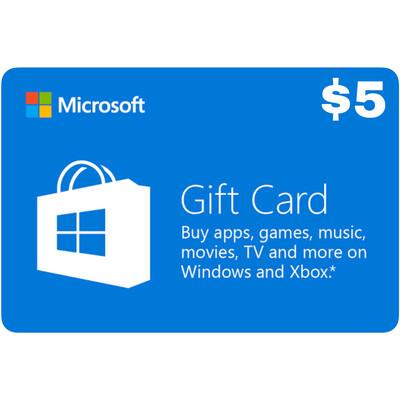 Microsoft Gift Card Digital Code: $5 - Windows / Xbox