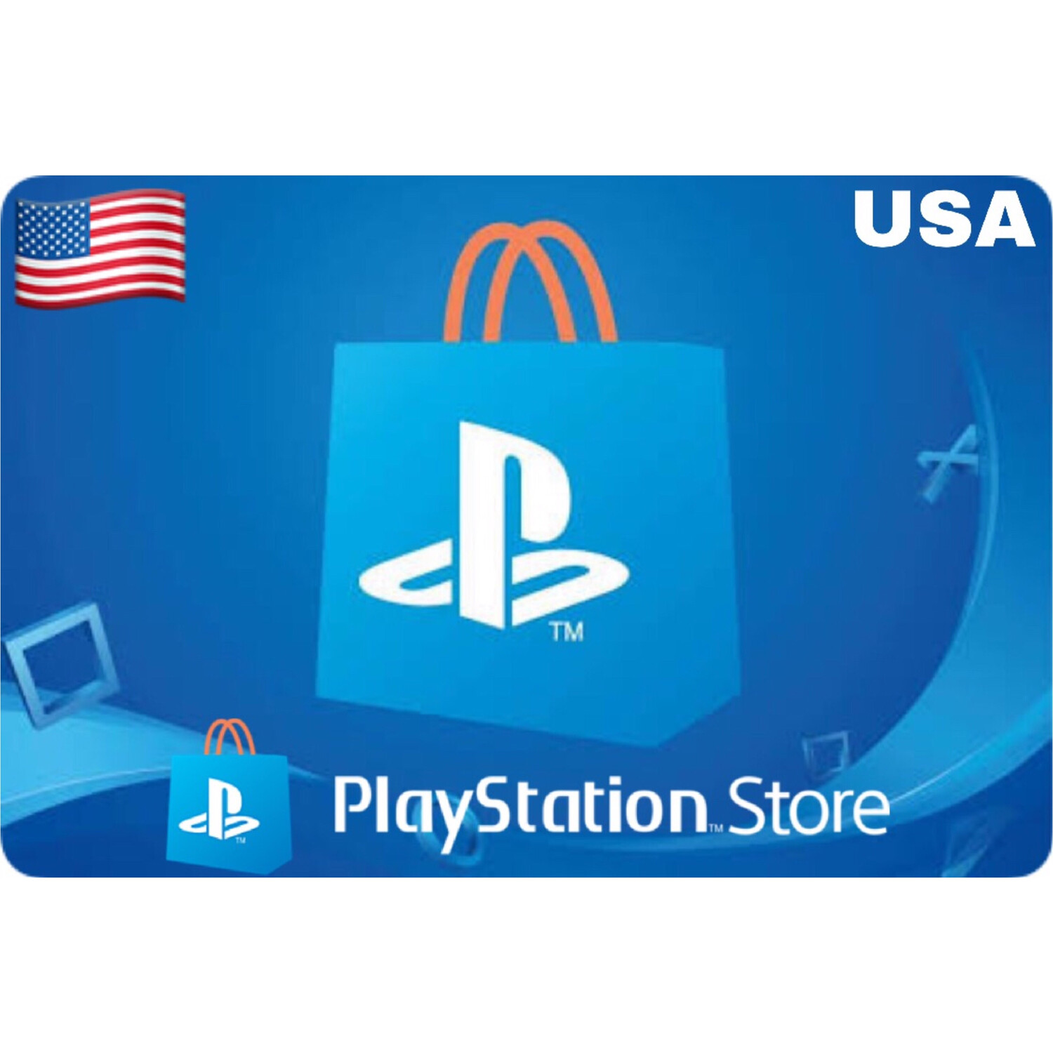 Playstation (PSN Card) USA $10 $20 $25 $50 $60 $75 $100