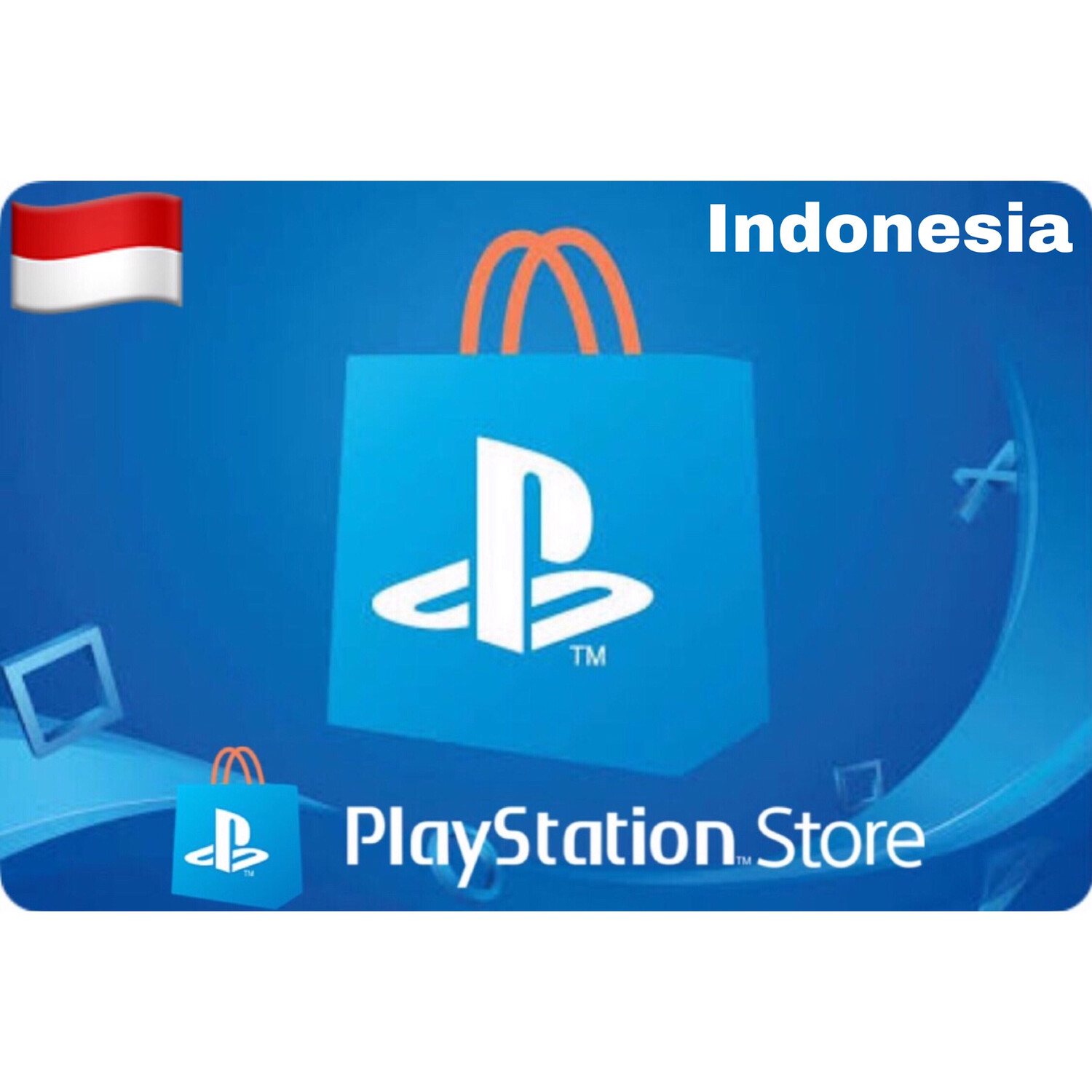 PSN Cards - Playstation Network Indonesia IDR 100.000 200.000 400.000