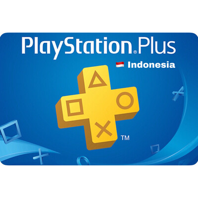 PSN Plus Cards - Playstation Plus Indonesia 3 12 Months Membership