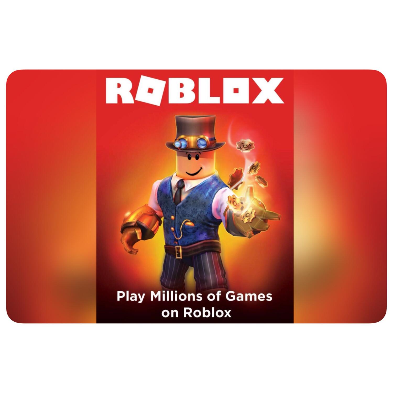 Roblox $10 (800 Robux) $25 (2000 Robux) $50 (4500 Robux) Digital Code
