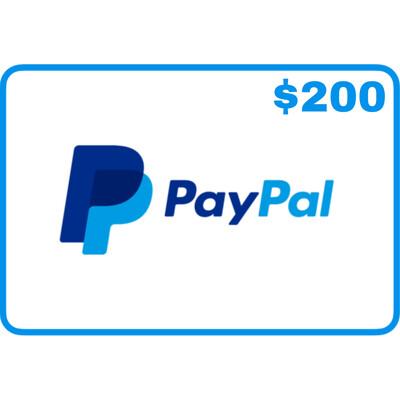 Jasa isi saldo Paypal $200