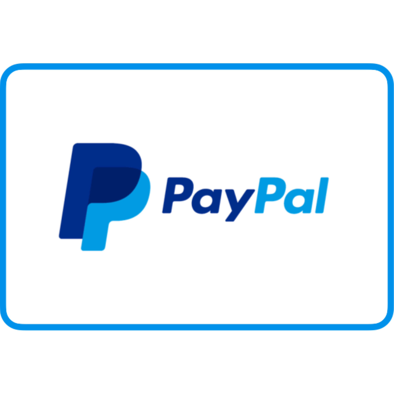 Paypal Reload $5 $10 $15 $25 $50 $100 $200 (Jasa isi saldo Paypal)