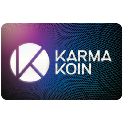 Karma Koin $10 $25 $50 $100