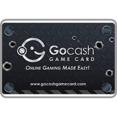 GoCash Game Card $5 $10 $15 $20 $50 $100