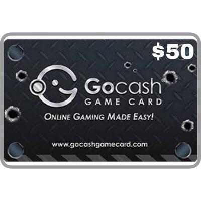 GoCash Game Card $50