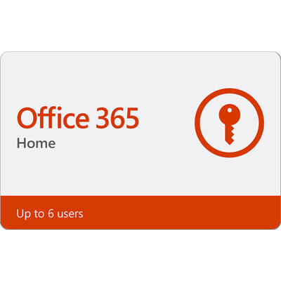 Microsoft Office 365 Home 12 Month Subscription EU (Europe) Region