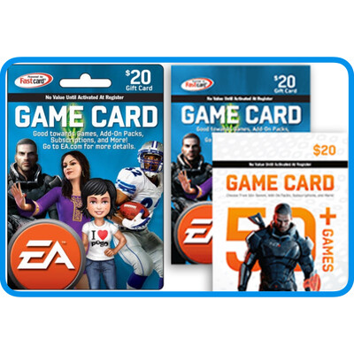 EA (Electronic Arts) Origin US Game Card $20 [Digital Code]