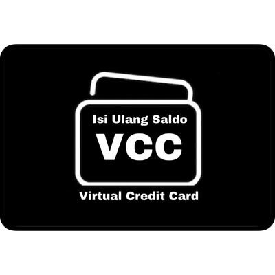 Isi Ulang Saldo Virtual Credit Card (VCC) Indonesia