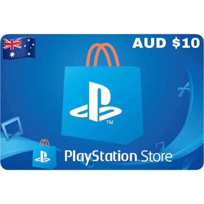 Playstation (PSN Card) AUD $10