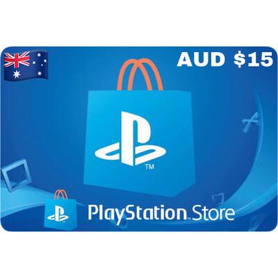 Playstation (PSN Card) AUD $15
