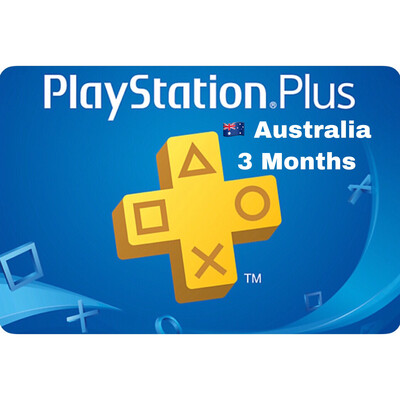 Playstation Plus (PSN Plus) Australia 3 Months
