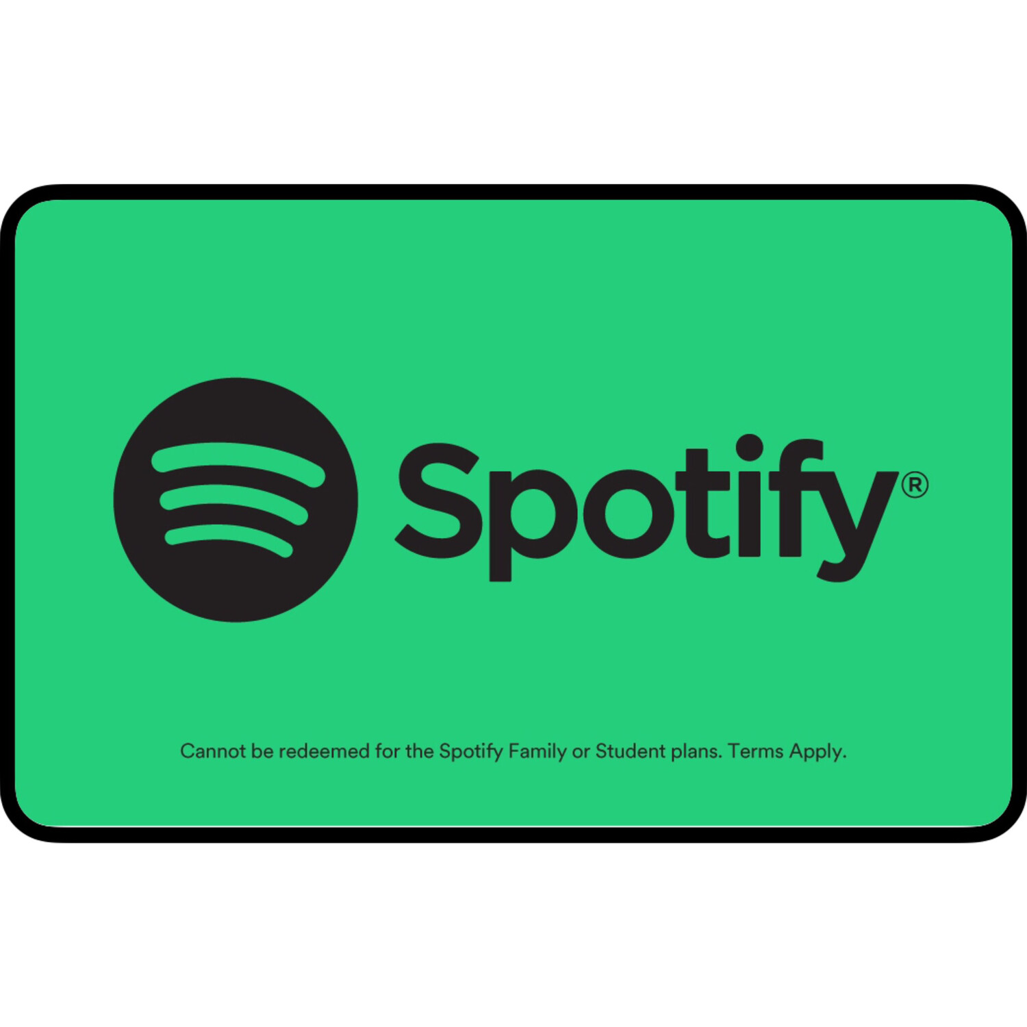 Spotify Premium Gift Card