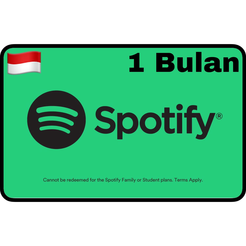 VCC Spotify Premium Indonesia 1 Bulan