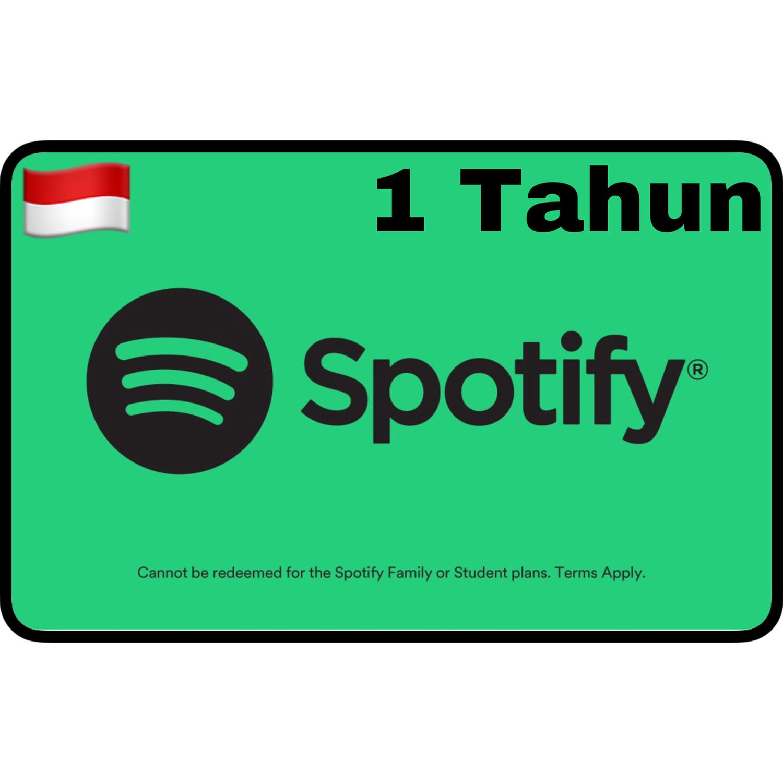 VCC Spotify Premium Indonesia 1 Tahun
