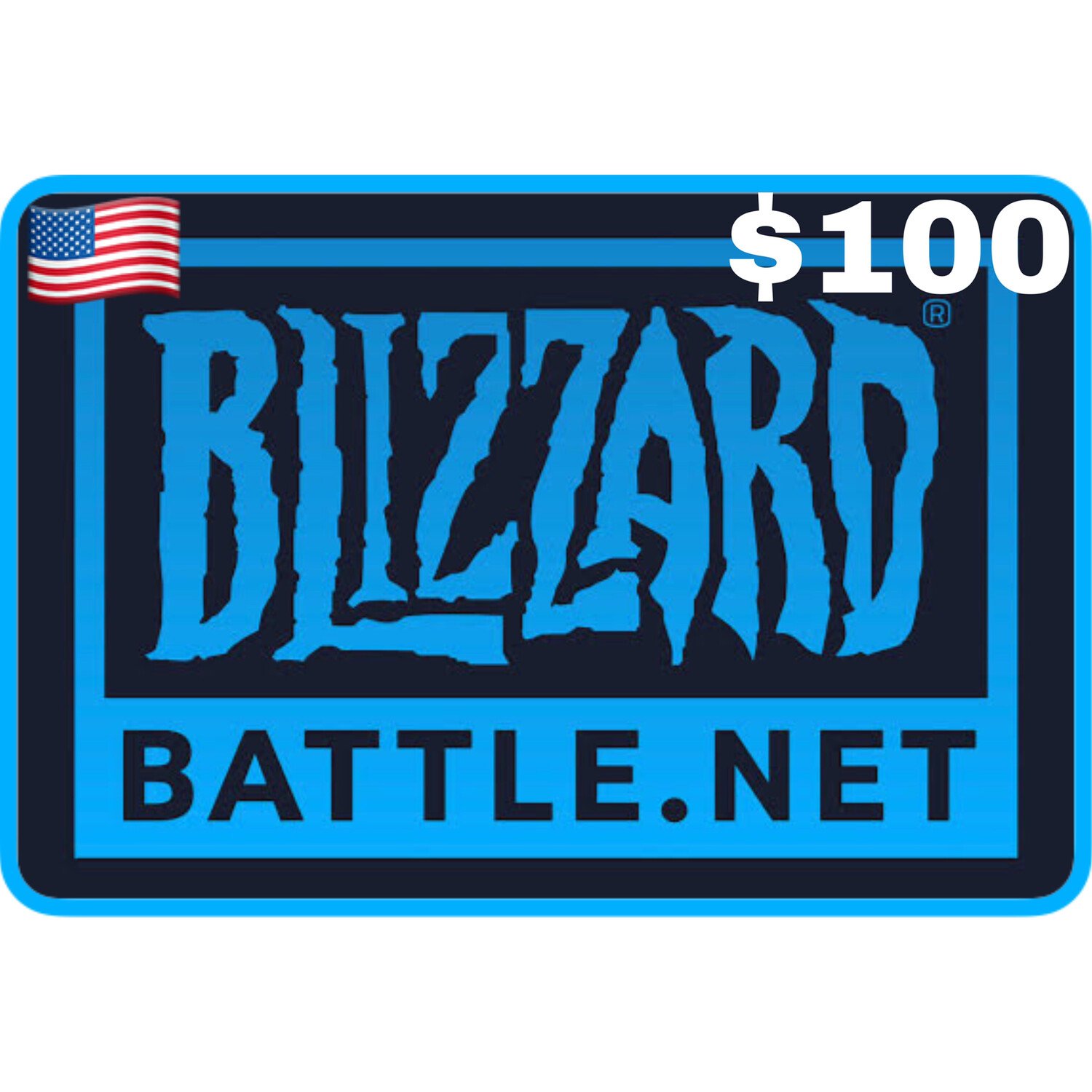 Blizzard Balance Gift Card US $100