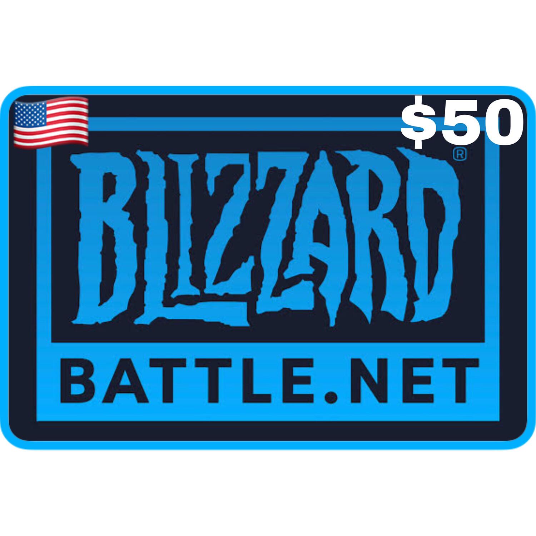 Blizzard Balance Gift Card US $50