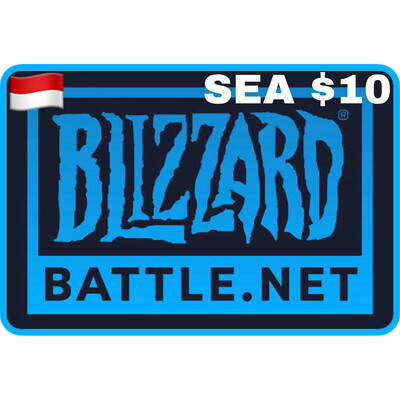Battlenet Gift Card SEA $10 Blizzard Balance