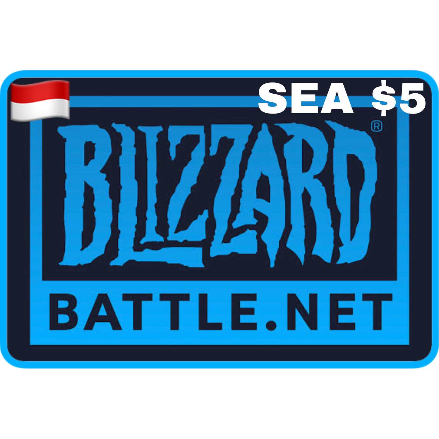 Battlenet Gift Card SEA $5 Blizzard Balance