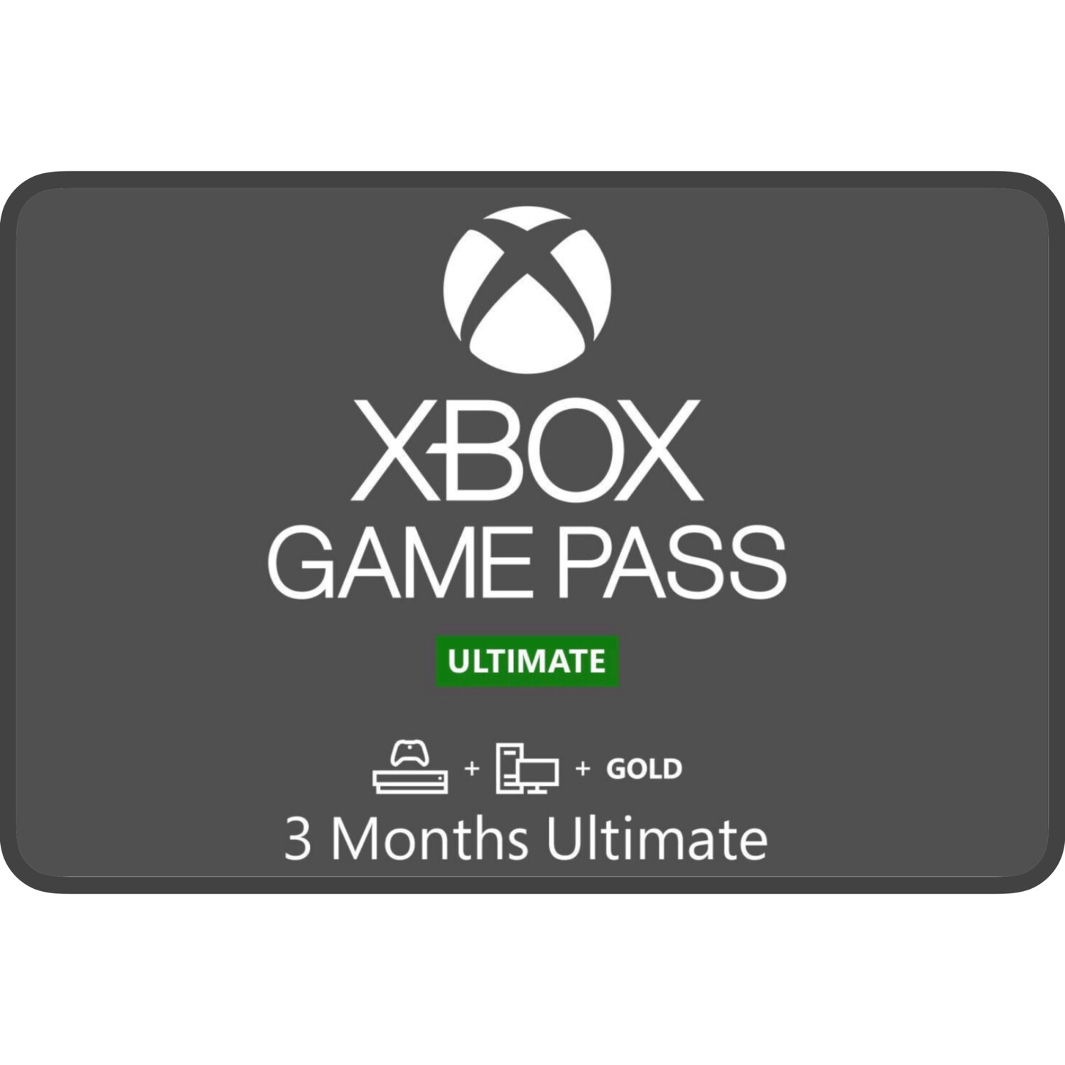 Xbox Game Pass 3 Months Ultimate